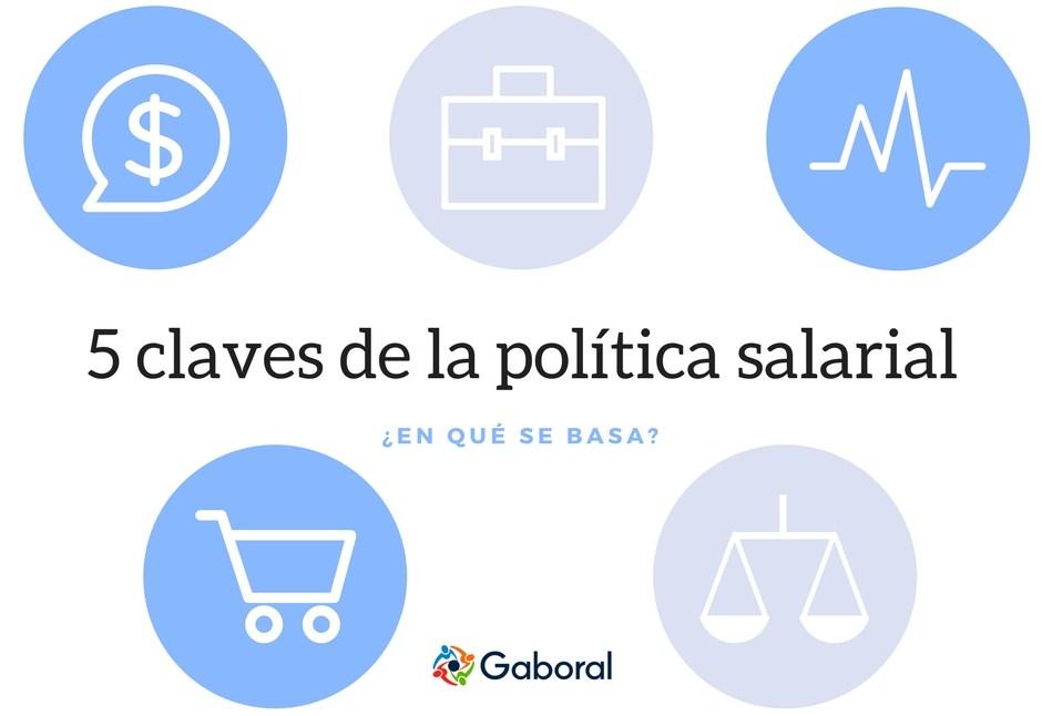 5 claves de la política salarial