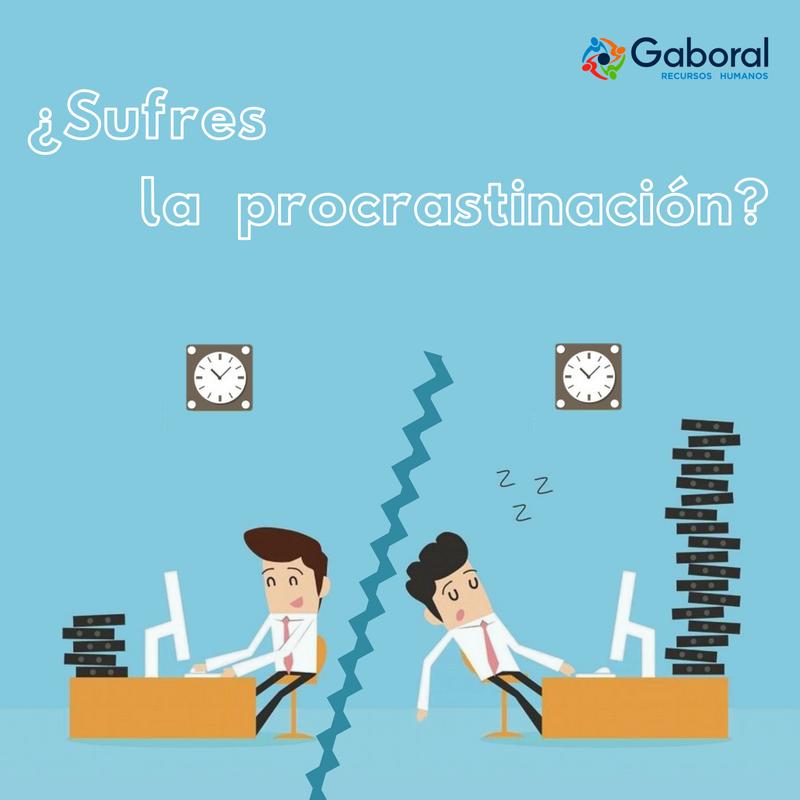 La Procrastinación es el vacío que existe entre intención y acción